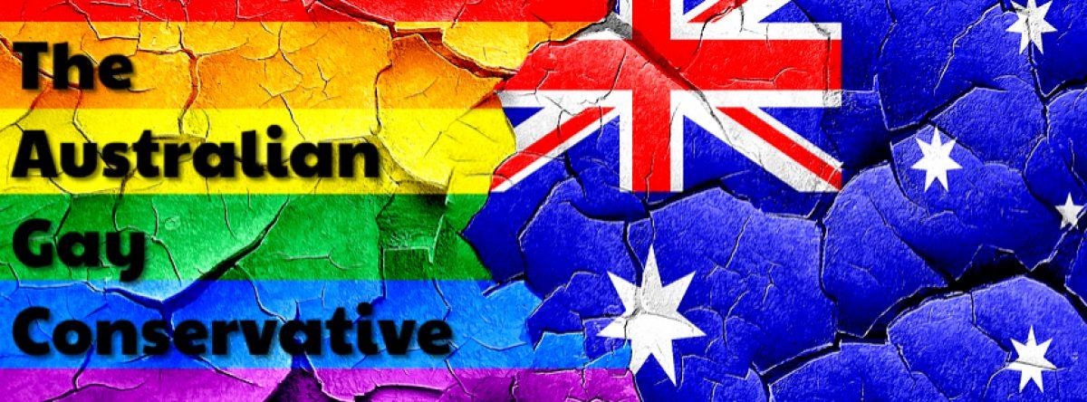Australian. Gay. Conservative.